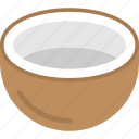 beverage, coconut water, food and drink, healthy drink, tropical juice icon