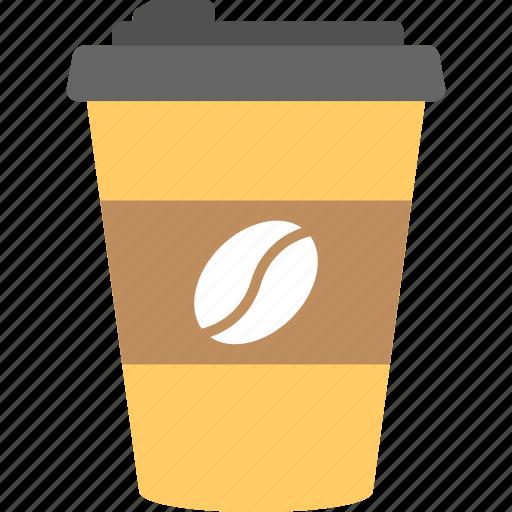 beverage, cold coffee, disposable, espresso, takeaway icon