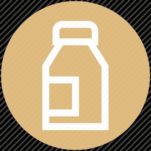 .svg, breakfast, can, kitchen, milk, water icon