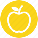 .svg, apple, apple slice, eating, energy, food, fruit icon