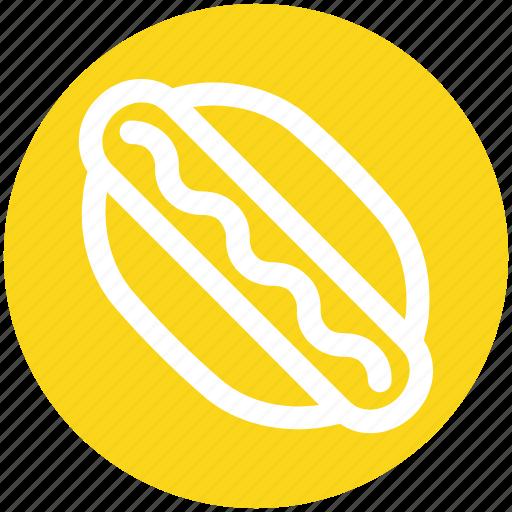 Hotdog, fast food, food, eating, hot, dog icon - Download on Iconfinder
