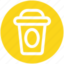 .svg, coffee, cup, glass, juice, paper, shake icon