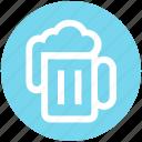 bar, food, beer, tankard, mug, .svg, drinking icon