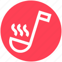 ladle, food, utensil, taste, spoon, .svg, kitchen icon