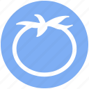 .svg, food, fruit, red, tomato, vegetables, vegetarian icon