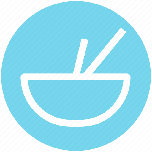 .svg, bowl, bowl and sticks, eat, food, soup, sticks icon