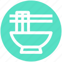 .svg, bowl, chinese, chinese food, food, noodles, sticks icon