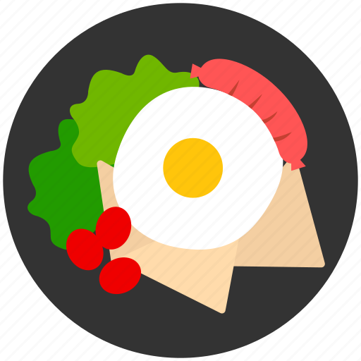 breakfast, cooking, egg, lunch, restaurant icon