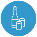 drink, food, glass, wine icon