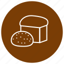 baking, bread, eating, food, kitchen icon