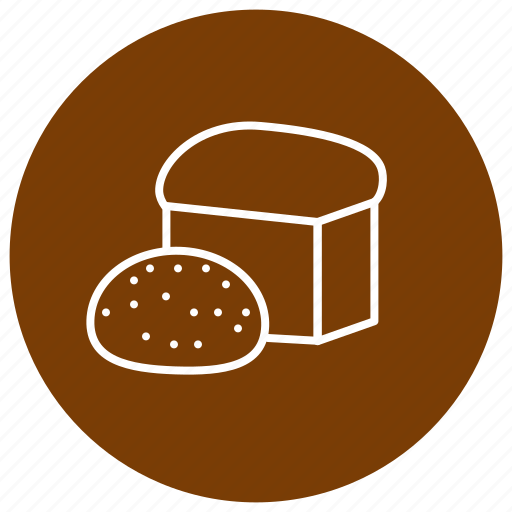 baking, bread, eating, food, kitchen icon