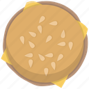 burger, cheeseburger, cooking, fast food, fastfood, hamburger, meal icon