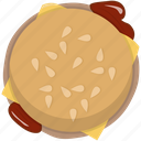 burger, cheese, fast food, fastfood, hamburger, junk, meal icon