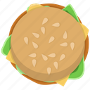 burger, fast food, fastfood, fishburger, hamburger, meal icon