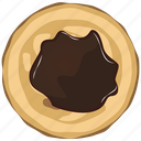 chocolate, cooking, food, meal, pancake, sweet icon
