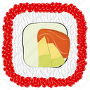 avocado, cooking, food, fresh, meal, sushi icon