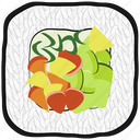 cooking, food, meal, sushi, vegetables icon