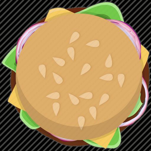 burger, cheeseburger, fast food, fastfood, hamburger, junk, meal icon