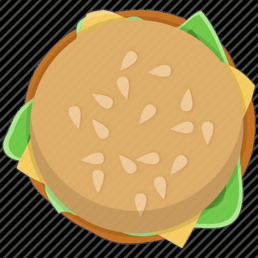 burger, fast food, fastfood, fishburger, hamburger, meal icon