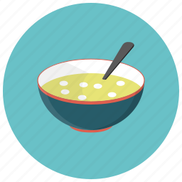dish, food, kitchenware, lunch, restaurant, soup, spoon icon