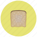 bread, food, rolls, toast icon