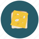 bread, cheese, food, sandwich icon