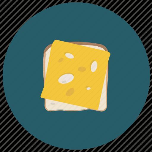 bread, cheese, food, sandwich icon