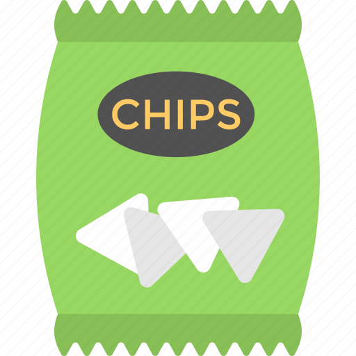 chips pack, crisps, package, potato chips, snack icon