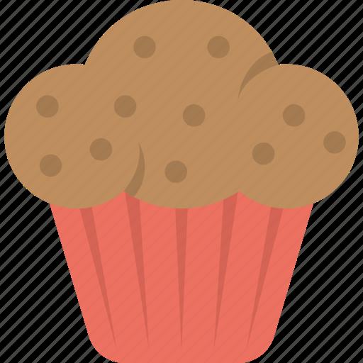 bakery, cupcake, dessert, muffin, sweet food icon