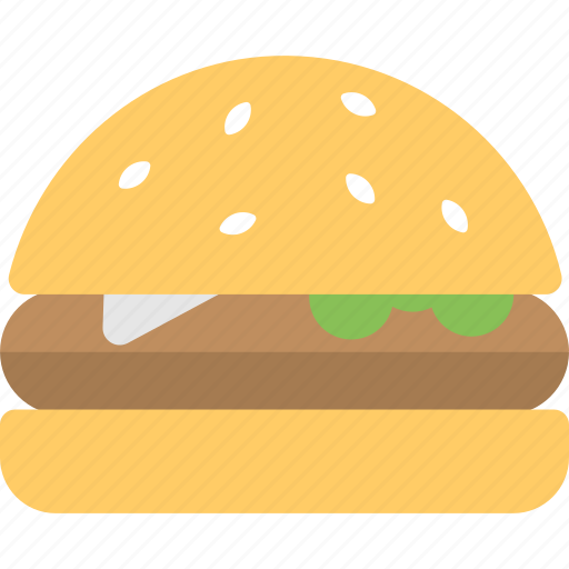 burger, fastfood, hamburger, junkfood, meal icon