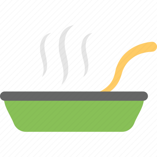 cooked food, healthy diet, hot food, meal, steaming dinner icon