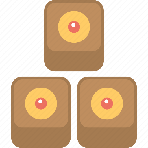 chocolate candies, confectionery, desserts, snacks, sweets icon