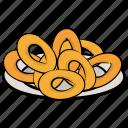fast food, fried onions, junk food, onion rings, snacks