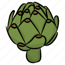 broccoli, food, green herb, healthy food, vegetable icon