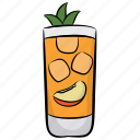 fruit punch, juice, peach juice, peach nectar, smoothie icon