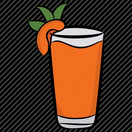 fruit punch, juice, peach juice, peach nectar, smoothie icon