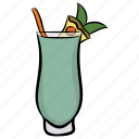 alcoholic drink, beverage, juice, soda water, tropical drink