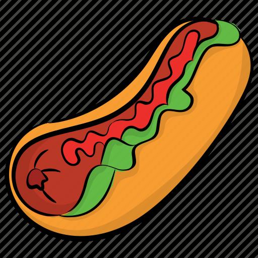 burrito, food, pita sandwich, snack food, tortilla rolls icon