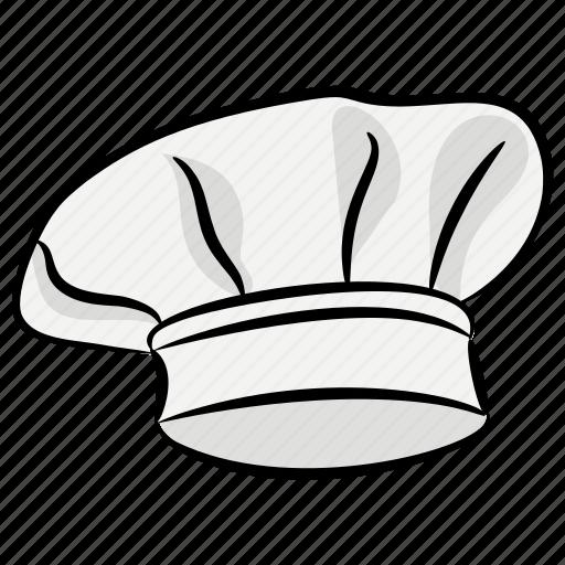 baker cap, chef cap, chef hat, chef logo, cook uniform icon