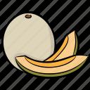 half cut papaya, healthy fruit, papaya, seed fruit, tropical fruit