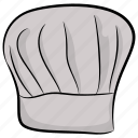 baker cap, chef cap, chef hat, chef logo, cook uniform icon