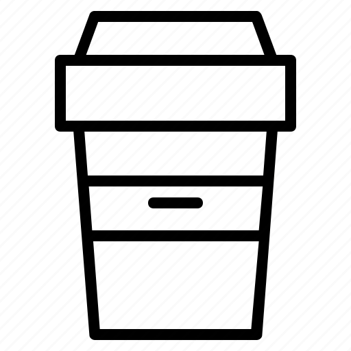 beverage, carrier, coffee, container, cup, tea icon