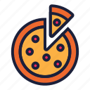 food, junk food, pizza icon