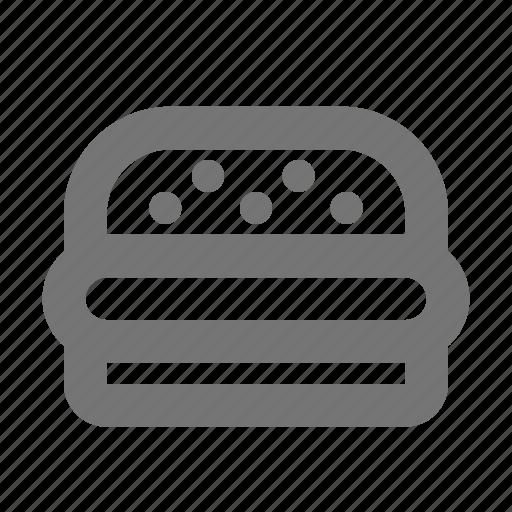 burger, food, hamburger icon