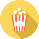 eating, fast, food, healthy, popcorn, sweet icon