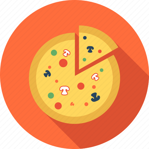 breakfast, fast, food, meal, pizza, restaurant icon