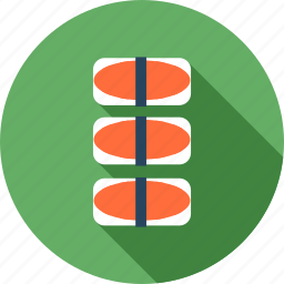 food, healthy, japan, meal, restaurant, sushi icon