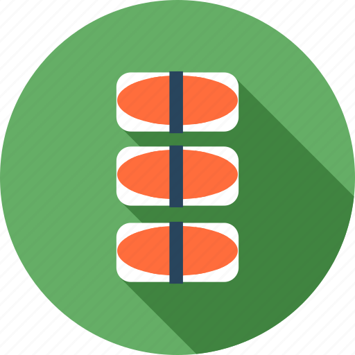 Food, healthy, japan, meal, restaurant, sushi icon - Download on Iconfinder