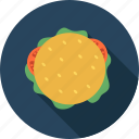 breakfast, fast, fletcher davis, food, hamburger, louis lassen, meal icon