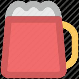 alcohol, ale, beer, beer mug, drink icon